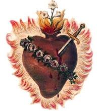 Acenda uma vela ao Coração de Jesus