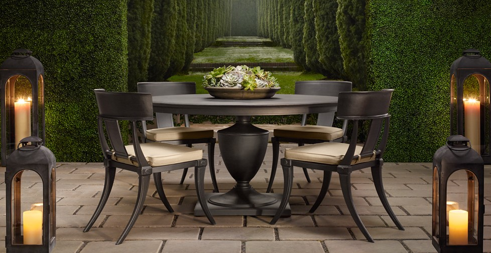 Restoration hardware outdoor furniture sale outdoor goods for Summer patio furniture sale