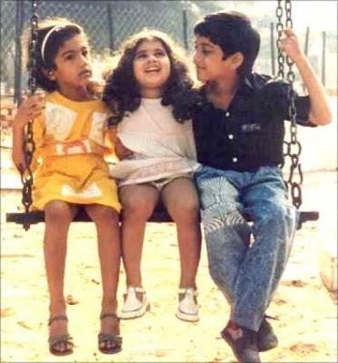 Baby Shamili Childhood Photos Anjali Movie Actress Shamili