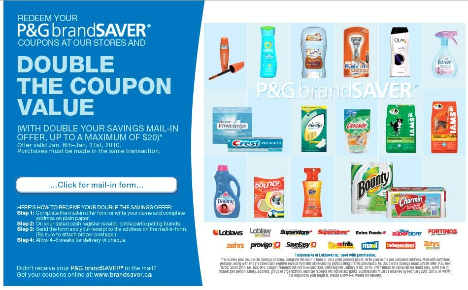 Freebies proctor and gamble