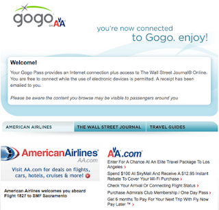 Gogo Internet, American Airlines Wifi, American Airlines Gogo