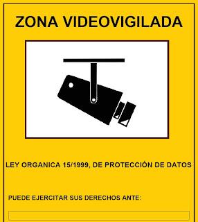 Conexi n 4c instalaci n de un sistema de videovigilancia - Cartel de videovigilancia ...