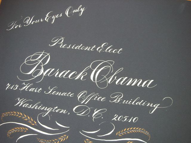 Mil Plumas Calligraphy Copperplate Goes To Washington