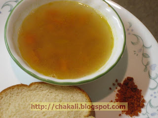 English Amti, Lentil Soup, Legumes clear soup, Dalinche soup