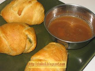 samosa crescent rolls, samosa puff, crescent puff, masala puff