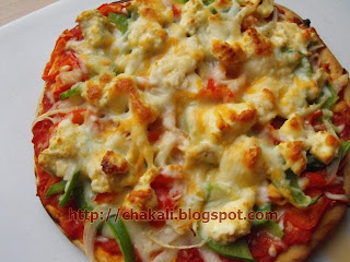 Pizza dough Recipe, perfect pizza, easy pizza recipe, Paneer pizza, Italian food, Pizza lunch