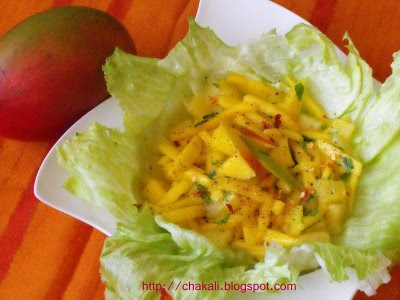 Pineapple, Mango, And Meyer Lemon Salad Recipes — Dishmaps