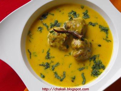 kadhi pakora, kadhi pakoda recipe, Punjabi Kadhi