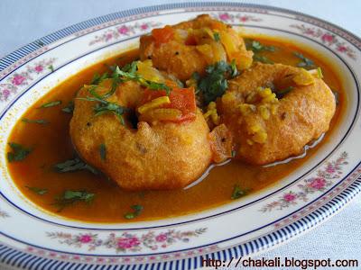 medu Vada sambhar recipe, medu wada recipe