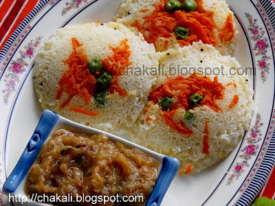 rava idli,south indian idli recipe, tiffin recipe, idli sambar, idli chutney, Sooji Idli