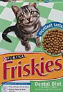 Friskies dental cat dry food