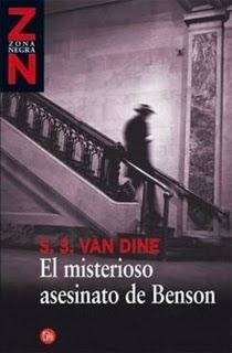 El Caso del Asesinato de Benson - S.S. Van Dine