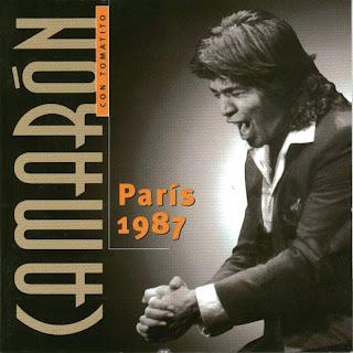 París 1987 - Camarón de la Isla