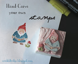 hand-carved stamps