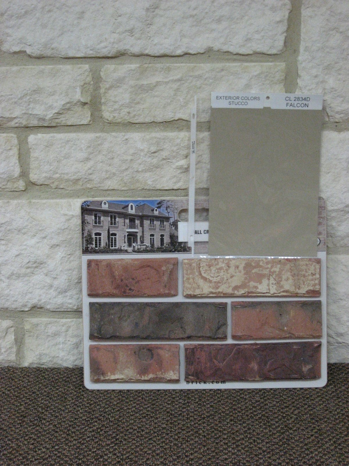Barzona bend home september 2010 for Brick and stone combinations