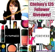 Chelsey's 125 Follower Giveaway