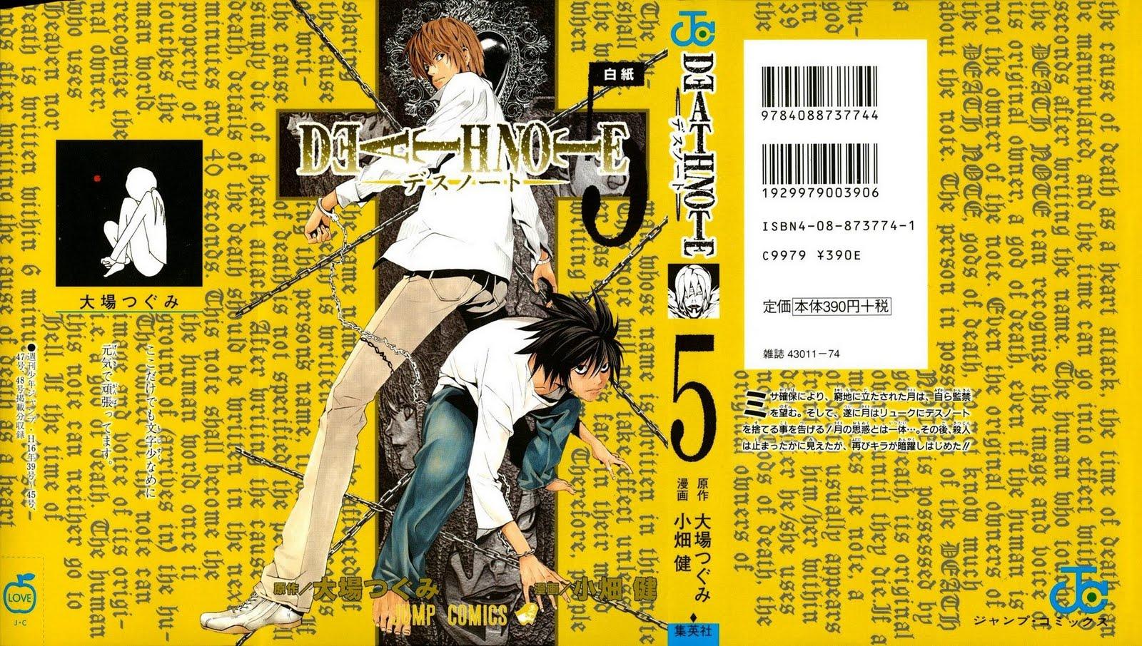 death note manga english pdf