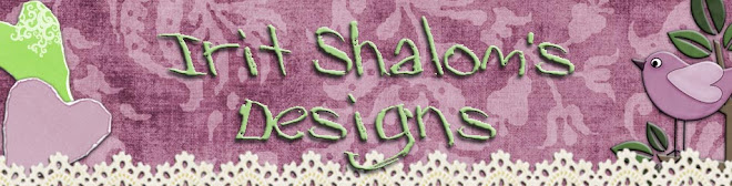 IRIT SHALOM- Craft addict LTD