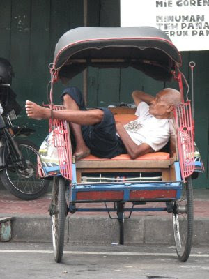 Becak; Indonesian Special Mass Transportations