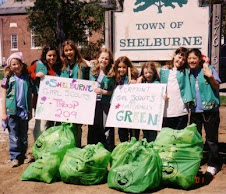 Girl Scout Troop in Shelburne