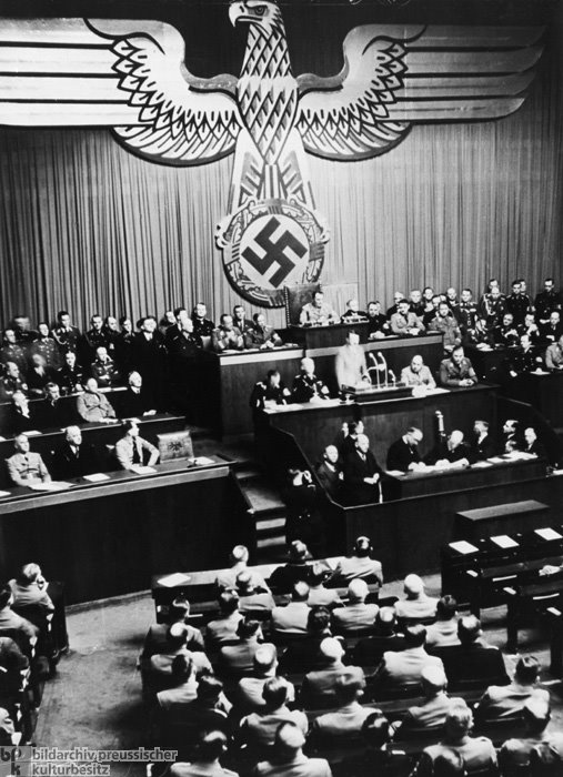a history of hitlers enabling act Adolf hitler, one of history's most notorious dictators, initiated fascist  hitler also  engineered the passage of the enabling act, which gave his.