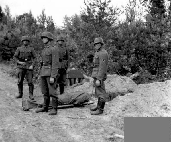 Video: dead germans on the eastern front