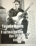 Meu entrevistado: Tavinho Moura