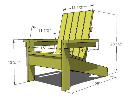 New How To Build Simple Adirondack Chair Simple Adirondack