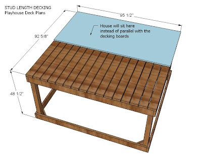 Ana white playhouse deck options diy projects for Cheap decking boards b q