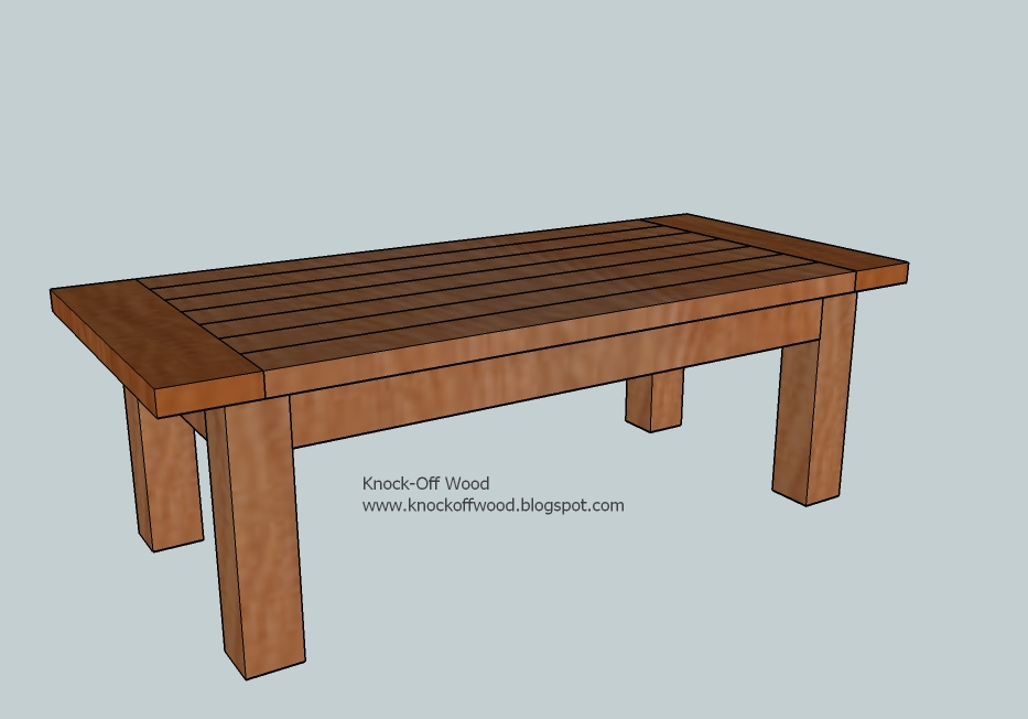 Coffee table woodworking plans downloadable woodworking for Wooden table design