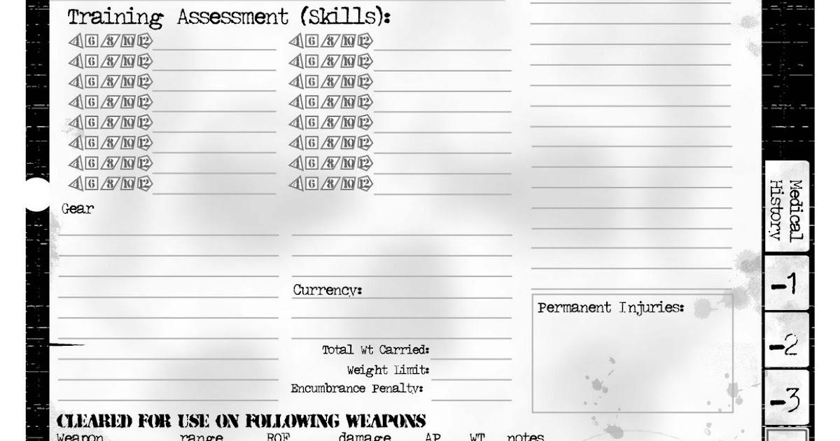 massive darkness character sheets pdf