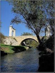 Sous le Pont Flavien