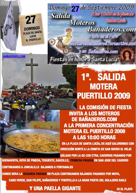 Primera Concentración Motera El Puertillo 2009