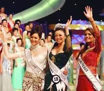 Agni Pratistha, Miss indonesia 2006