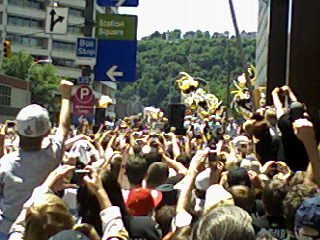 Sid the Kid Hoists Lord Stanley's Cup