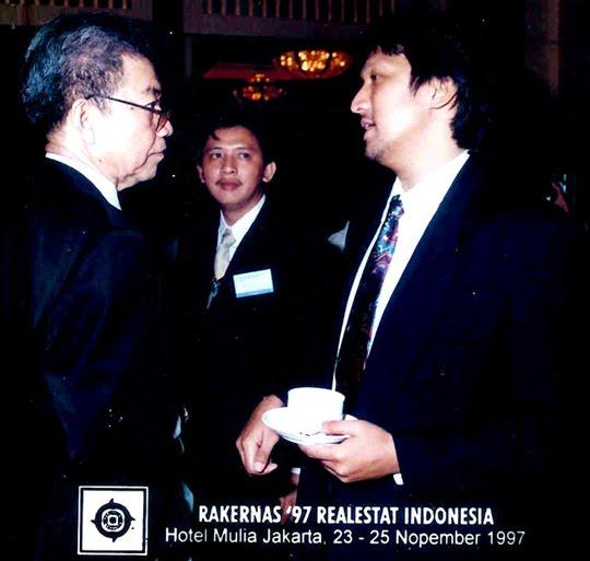 Ikang Fawzi bersama (alm) Ekki Syahruddin (Golkar Banten) Duta Besar Canada.