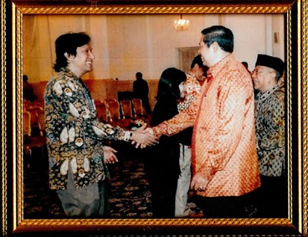 Mendampingi Menteri Perumahan Rakyat ke Istana Negara