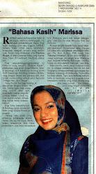 """Karya Buku Marissa Grace Haque Fawzi ke 2, """"Bahasa Kasih"""""""