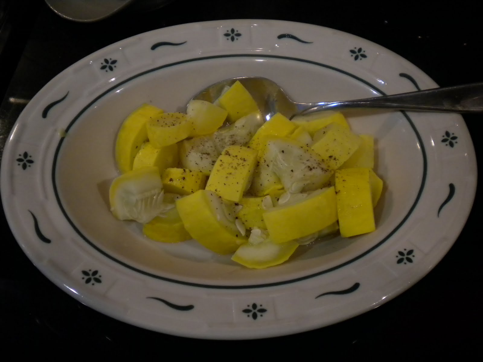 How to cook fresh green squash