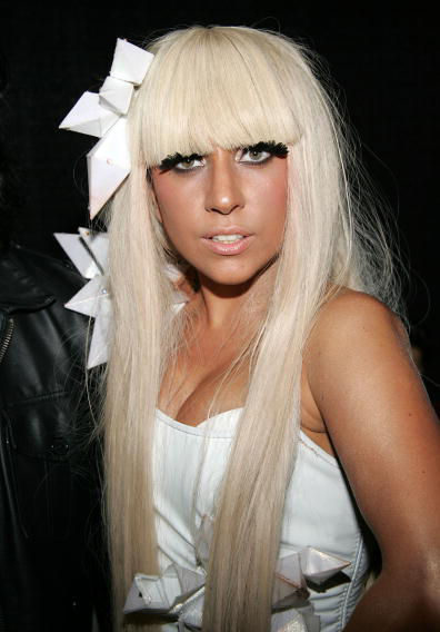 Angelina Germanotta but She is very well known as Stage name Lady gaga