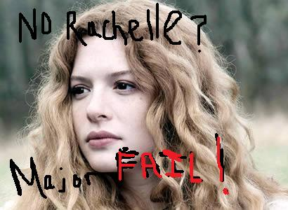 No Rachelle: Major FAIL!