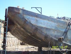 Reparacion completa de barcazas de carga general