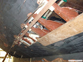Reparacion y remplazo de rumbos en embarcaciones clasicas.