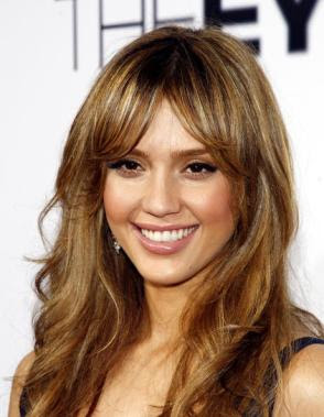 jessica alba brown hair celebrities