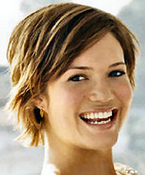 mandy moore short hair celebrities
