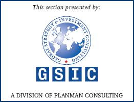 A DIVISION OF PLANMAN CONSULTING :- Global Strategy & Investment Consulting