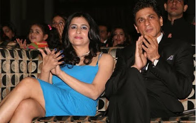 SRK with Rajita Chaudhuri