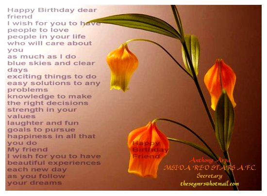 birthday greetings. Free Birthday Greeting | Happy