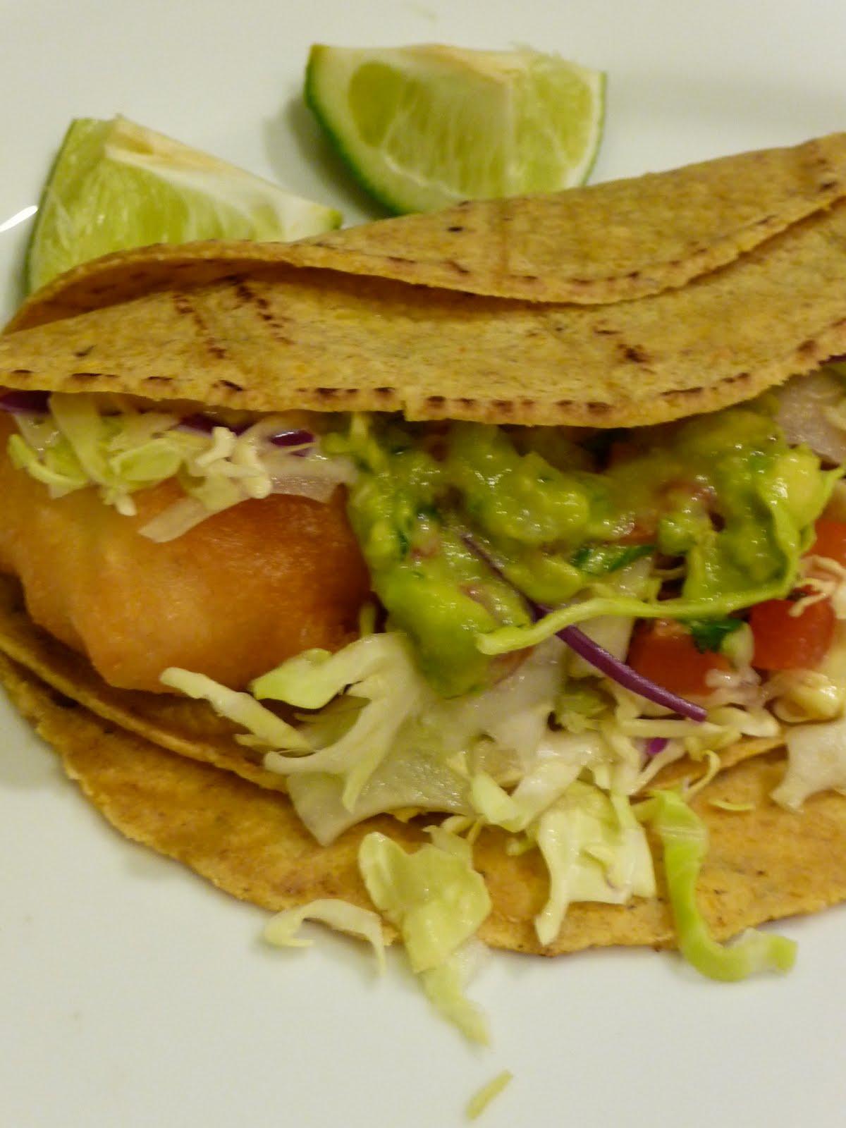 Epicurean mom halibut tacos for Halibut fish tacos