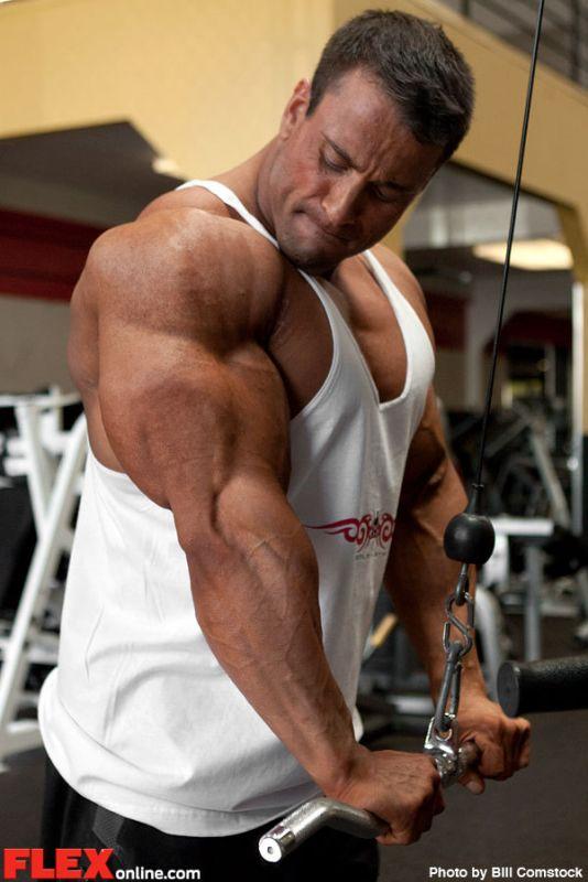 world bodybuilders pictures: new photos of mark richman
